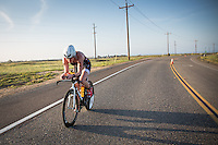 Melanie McQuaid competes during the bike portion of the Accenture Ironman California 70.3 in Oceanside, CA on March 29, 2014.