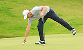 Alex NOREN (SWE) during the semi final round of the Aberdeen Asset Management Paul Lawrie Matchplay being played over the Fidra Links at Archerfield, East Lothian from 4th to 7th August 2016:  Picture Stuart Adams, www.golftourimages.com: 06/08/2016