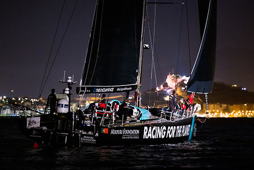 Mirpuri Foundation Racing Team coasts into Alicante at the finish of Leg Two of The Ocean Race Europe