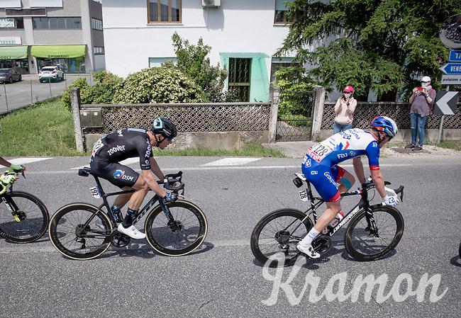 Nikias Arndt (DEU/DSM) in the breakaway group<br /> <br /> 104th Giro d'Italia 2021 (2.UWT)<br /> Stage 15 from Grado to Gorizia (147km)<br /> <br /> ©kramon