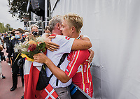 3th place finisher Michael Valgren (DEN/EF Education Nippo) post race<br /> <br /> Men Elite – Road Race (WC)<br /> Race from Antwerp to Leuven (268.3km)<br /> <br /> ©kramon