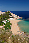 Spain, Menorca, near Fornells: Cala Pregonda, North Coast | Spanien, Menorca, bei Fornells: Cala Pregonda an der Nordkueste