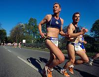 Läufer beim Hanse-Marathon, Hamburg, Deutschland