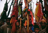 When the LaLa Walles come to a town it creates this frenzied celebration at whichever saint's tomb can accommodate the crowd. These pilgrimages formed the basis of trade routes that developed in the early urban phase of the Indus Valley in 3,500 BC. Uniform development of cities along these routes is well documented and developed because these town to town group pilgrimages from made it safer to carry goods for trade.