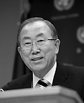 SG Ban Ki Moon Press conference Aug 19 2013