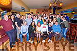 Brian O'Shea Currans seated centre celebrated his 21st Birthday with his family and friends in Dalys bar Currans on Saturday night