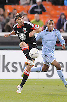 D.C. United defender Dejan Jakovic (5) Sporting Kansas City defeated D.C. United  1-0 at RFK Stadium, Saturday March 10, 2012.