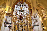 Baroque Marble Altarpiece by Narciso Tomé of Toledo Cathedral, Spain