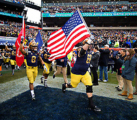 Photography coverage of the120th playing of the Army-Navy Game, Saturday afternoon December 14, 2019, at Lincoln Financial Field in Philadelphia, PA.<br /> <br /> Navy defeated Army 31- 7.<br /> <br /> Charlotte Photographer -PatrickSchneiderPhoto.com