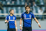 Gamba Osaka Midfielder Kurata Shu gestures during the AFC Champions League 2017 Group H match Between Jeju United FC (KOR) vs Gamba Osaka (JPN) at the Jeju World Cup Stadium on 09 May 2017 in Jeju, South Korea. Photo by Marcio Rodrigo Machado / Power Sport Images