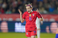 CARSON, CA - FEBRUARY 7: Rose Lavelle #16 of the United States during a game between Mexico and USWNT at Dignity Health Sports Park on February 7, 2020 in Carson, California.