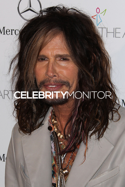 LOS ANGELES, CA - JANUARY 11: Steven Tyler at The Art of Elysium's 7th Annual Heaven Gala held at Skirball Cultural Center on January 11, 2014 in Los Angeles, California. (Photo by Xavier Collin/Celebrity Monitor)