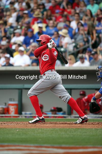 Brandon Phillips - Cincinnati Reds 2016 spring training (Bill Mitchell)
