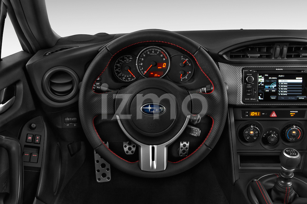 Car pictures of steering wheel view of a 2015 Subaru BRZ Limited AT 2 Door Coupe Steering Wheel