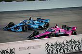 #60: Jack Harvey, Meyer Shank Racing Honda and #59: Conor Daly, Carlin Chevrolet