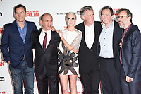 """Jason Isaacs, Armando Iannucci, Andrea Risborough, Michael Palin, Paul Whitehouse and David Schneider<br /> arriving for the premiere of """"The Death of Stalin"""" at the Curzon Chelsea, London<br /> <br /> <br /> ©Ash Knotek  D3338  17/10/2017"""