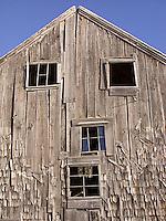 Side of old abandoned barn<br />