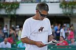 24-Jul-10: Track patron sporting a Rachel Alexandra t-shirt.