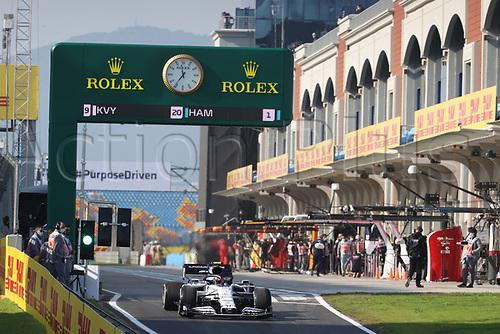 13th November 2020; Istanbul Park, Istanbul, Turkey; FIA Formula One World Championship 2020, Grand Prix of Turkey, Free practise sessions;  10 Pierre Gasly FRA, Scuderia AlphaTauri Honda