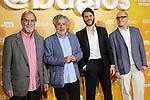 Ramon Barea(l), Carlos Iglesias, Santiago Requejo and Roberto Alvarez attend Abuelos premiere on October 09, 2019 in Madrid, Spain.(ALTERPHOTOS/ItahisaHernandez)