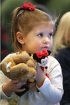 Amelia Papez, 3, listens to Storytime at the Carson City Library on Thursday, Dec. 13, 2012. .Photo by Cathleen Allison