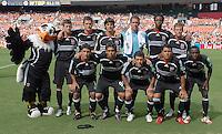 DC United Starting XI. DC United tied the Colorado Rapids 1-1, Saturday, August 19, 2006 at RFK Stadium.