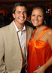 Emily and Seth Murphy at the Health Museum Casino Party at the Four Seasons Hotel Saturday Aug. 15, 2009.(Dave Rossman/For the Chronicle)