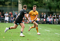 Thursday 9th September 20218 <br /> <br /> Ethan McIlroy during the pre-season friendly between Saracens and Ulster Rugby at the Honourable Artillery Company Grounds, Armoury House, London, England. Photo by John Dickson/Dicksondigital