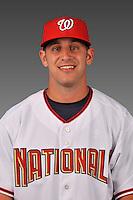14 March 2008: ..Portrait of Craig Stinson, Washington Nationals Minor League player at Spring Training Camp 2008..Mandatory Photo Credit: Ed Wolfstein Photo