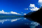 View of Lake Quinault, Olympic National Forest and Quinault Indian Nation