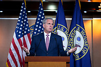 United States Representative Kevin McCarthy (Republican of California) speaks during his weekly press conference at the United States Capitol in Washington D.C., U.S., on Thursday, June 11, 2020.  Credit: Stefani Reynolds / CNP/AdMedia