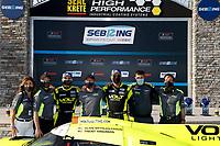 #7 VOLT Racing with Archangel Ligier JS P320, P3-1: Trent Hindman, Alan Brynjolfsson <br /> Winner, victory lane