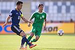 Yoshida Maya of Japan (L) in action during the AFC Asian Cup UAE 2019 Group F match between Japan (JPN) and Turkmenistan (TKM) at Al Nahyan Stadium on 09 January 2019 in Abu Dhabi, United Arab Emirates. Photo by Marcio Rodrigo Machado / Power Sport Images