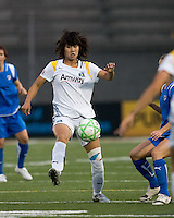 Los Angeles Sol forward Han Duan (9). The Boston Breakers defeated Los Angeles Sol, 2-1, at Harvard Stadium on May 2, 2009.