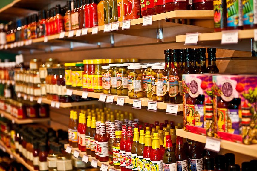 Hot sauce specialty shop, New Hope, PA, Pennsylvania.