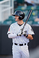 Jackson Generals third baseman Colin Walsh (8) at bat during a game against the Chattanooga Lookouts on April 27, 2017 at The Ballpark at Jackson in Jackson, Tennessee.  Chattanooga defeated Jackson 5-4.  (Mike Janes/Four Seam Images)