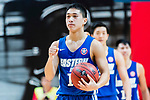 Yang Ricky #10 of Eastern Long Lions reacts during the Hong Kong Basketball League playoff game between SCAA and Eastern Long Lions at Queen Elizabeth Stadium on July 27, 2018 in Hong Kong. Photo by Yu Chun Christopher Wong / Power Sport Images