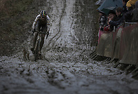 World Champion Wout Van Aert (BEL/Crelan Charles)<br /> <br /> Men's Elite Race<br /> GP Sven Nys 2018
