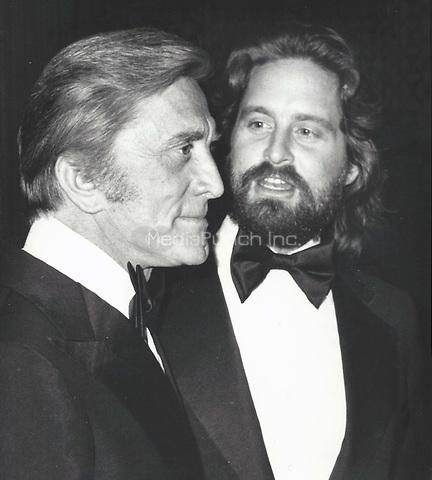 Michael and Kirk Douglas 1977 <br /> Credit:  John Barrett/PHOTOlink/MediaPunch