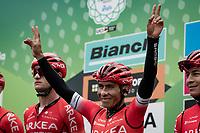 Nairo Quintana (COL/Arkea-Samsic) at the race start in Como<br /> <br /> 115th Il Lombardia 2021 (1.UWT)<br /> One day race from Como to Bergamo (ITA/239km)<br /> <br /> ©kramon