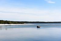 Strand  bei St.Olofsholm auf der Insel Gotland, Schweden, Europa<br /> beach at St.Olofsholm, Isle of Gotland Sweden