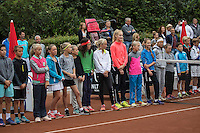 Hilversum, Netherlands, August 8, 2016, National Junior Championships, NJK, Official Opening<br /> Photo: Tennisimages/Henk Koster
