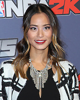 NEW YORK CITY, NY, USA - SEPTEMBER 23: Jamie Chung arrives at the NBA 2K15 Launch Celebration held at The Standard on September 23, 2014 in New York City, New York, United States. (Photo by Jeffery Duran/Celebrity Monitor)