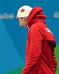 Alexander Elliot, Rio 2016 - Para Swimming // Paranatation.<br /> Alexander Elliot swims in the men's 50m free finals // Alexander Elliot nage dans la finale du 50 m libre masculin. 09/09/2016.