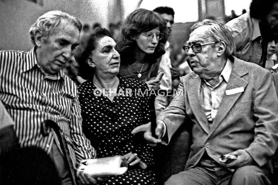 Encontro Nacional de Fundação do Partido dos Trabalhadores, PT no Colégio Sion. SP. 10.02.1980. Foto de Juca Martins.