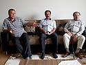 Iraq 2011 In Koysanjak, meeting in the house of Botan, former military chief of PKK with a former member of the PKK and Yachar Kaya, a Kurdish politician of Turkey<br /> Irak 2011 A Koysanjak, rencontre dans la maison de Botan, ancien chef militaire du PKK avec un ancien membre du PKK et Yachar Kaya, un politicien kurde de Turquie