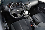 High angle dashboard view of a 2006 Nissan Altima 2.5S