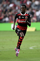 10th February 2021; Bankwest Stadium, Parramatta, New South Wales, Australia; A League Football, Western Sydney Wanderers versus Melbourne Victory; Bruce Kamau of Western Sydney Wanderers
