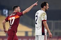 20201223 Calcio Roma Cagliari Serie A
