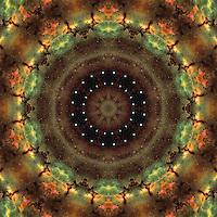 Space-Time Continuum Mandala #1